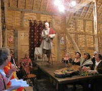 Medieval Merriment with a  performance of Beowulf (1)