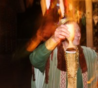 Medieval Merriment with a  performance of Beowulf (7)